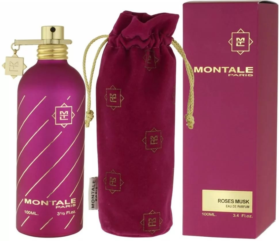 Montale Roses Musk 100ml edp старый дизайн (розовый)