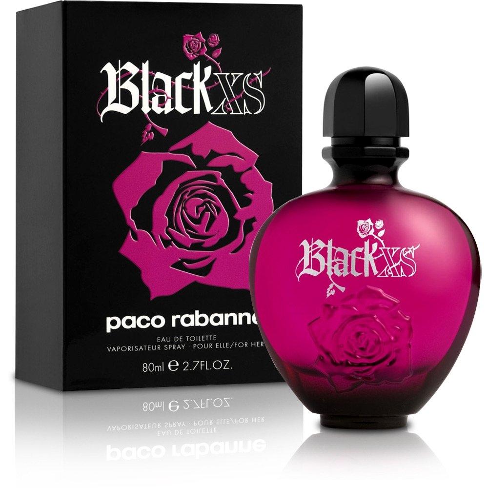 Туалетная вода PACO RABANNE BLACK XS  для женщин 80 мл.